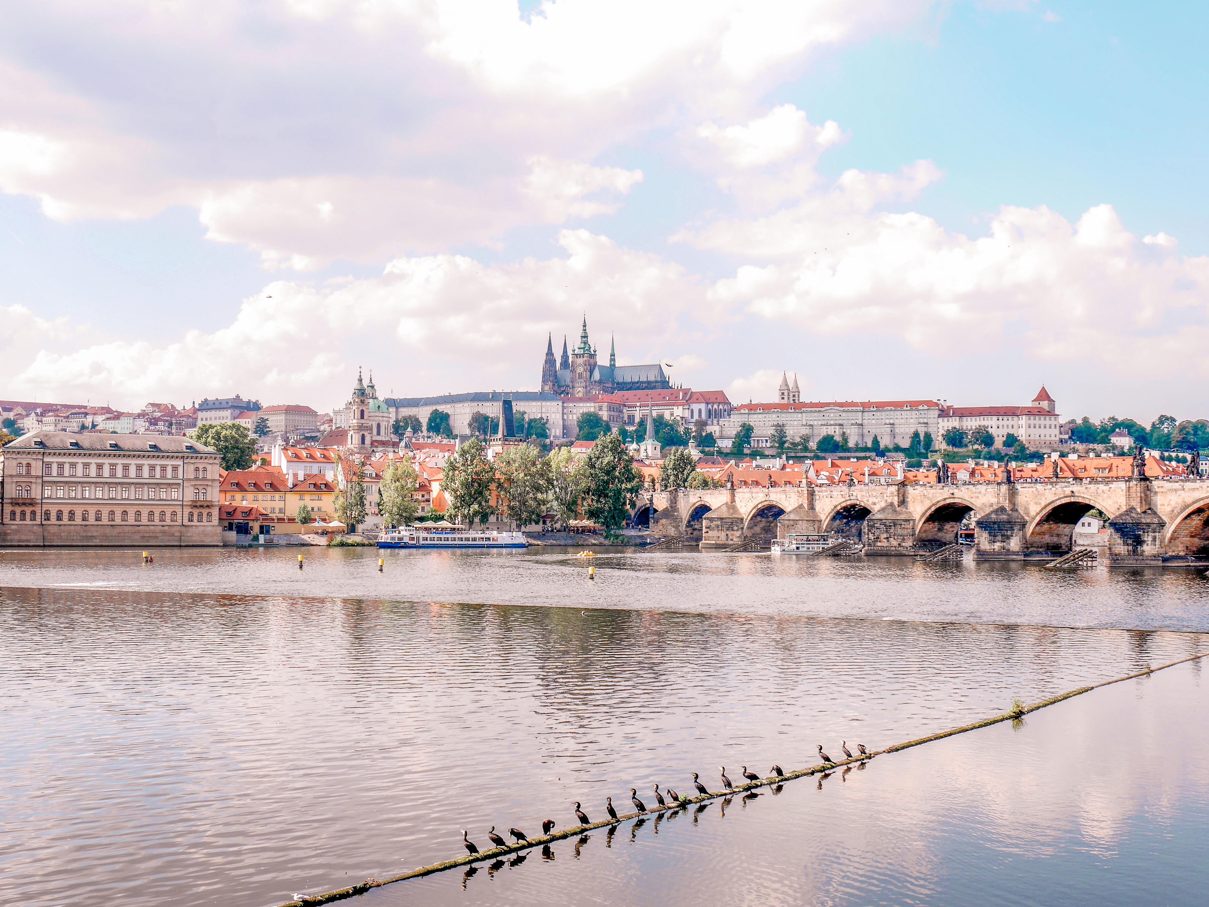 Prahan vanhakaupunki.