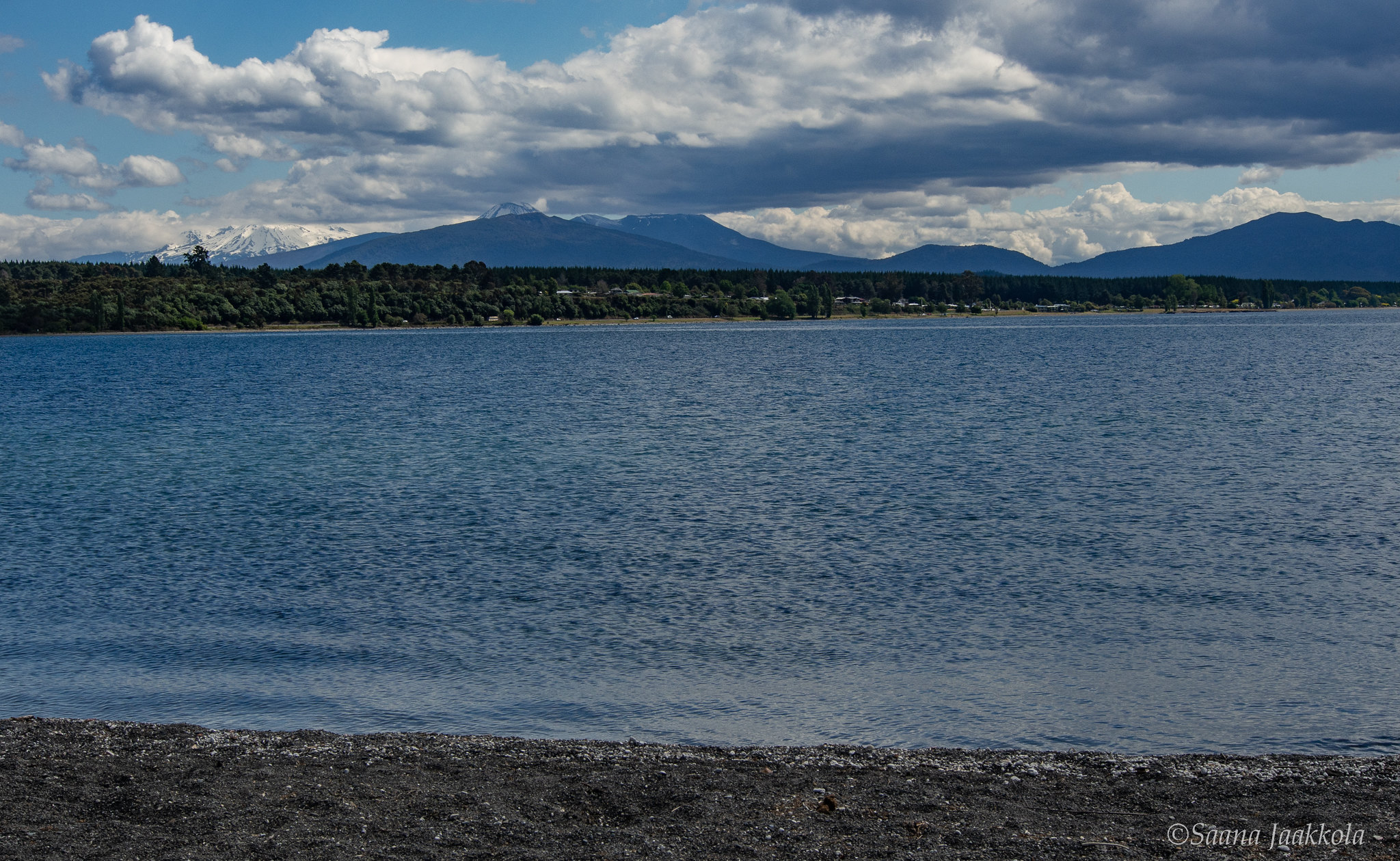 Lake Taupo, a hot and cold heaven in New Zealand.