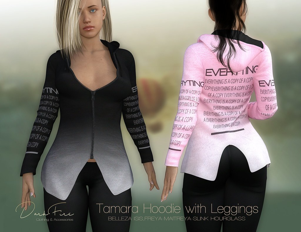 Tamara Hoodie with Leggings - TeleportHub.com Live!