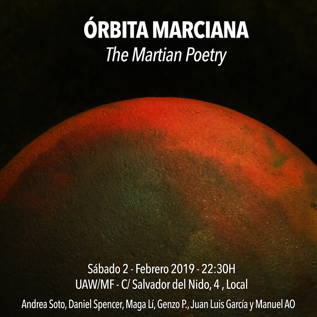 ÓRBITA MARCIANA - THE MARTIAN POETRY - UAW/MF 2.2.19