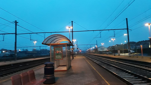 At the station quite every day