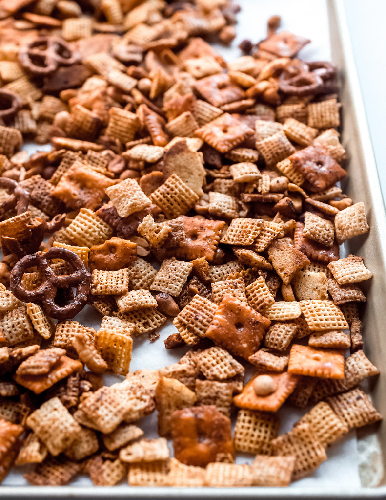 BBQ Chex Mix