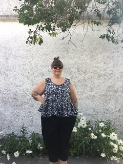 In The Folds Peppermint Magazine Peplum Top Plus Size Review