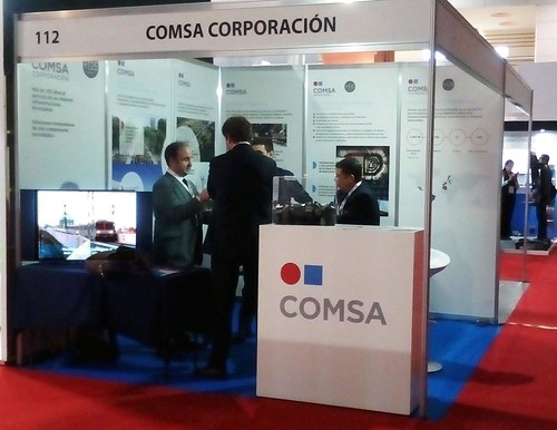 COMSA shows its centennial railway experience in Exporail (Mexico)