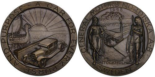 General Motors Bronze Medal