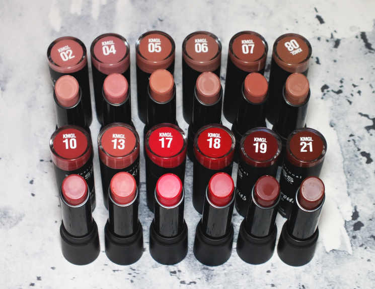 kiss amorous matte gel lipstick
