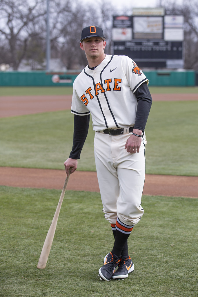 OSU Baseball Throwbacks, Thursday, January 31, 2019, Allie P. Reynolds Stadium, Stillwater, OK. Bruce Waterfield/OSU Athletics