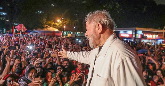 Lula participa de ato no Distrito Federal em janeiro de 2018 - Créditos: Ricardo Stuckert