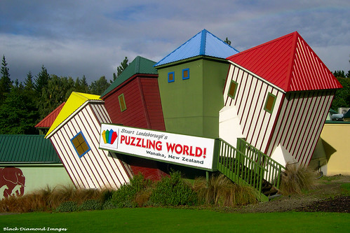 Stuart Landsborough's Puzzling World, Wanaka, South Island, New Zealand
