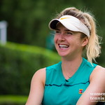 Elina Svitolina of the Ukraine