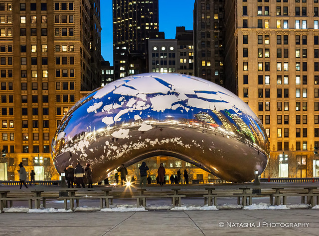 You are never too old to set another goal, or to dream a new dream.  Chicago. The Bean in Millennium Park