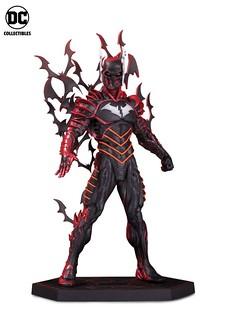 超光速的紅色身影無情襲來! DC Collectibles《Dark Nights: Metal》蝙蝠俠-紅色死神 Batman The Red Death 全身雕像作品