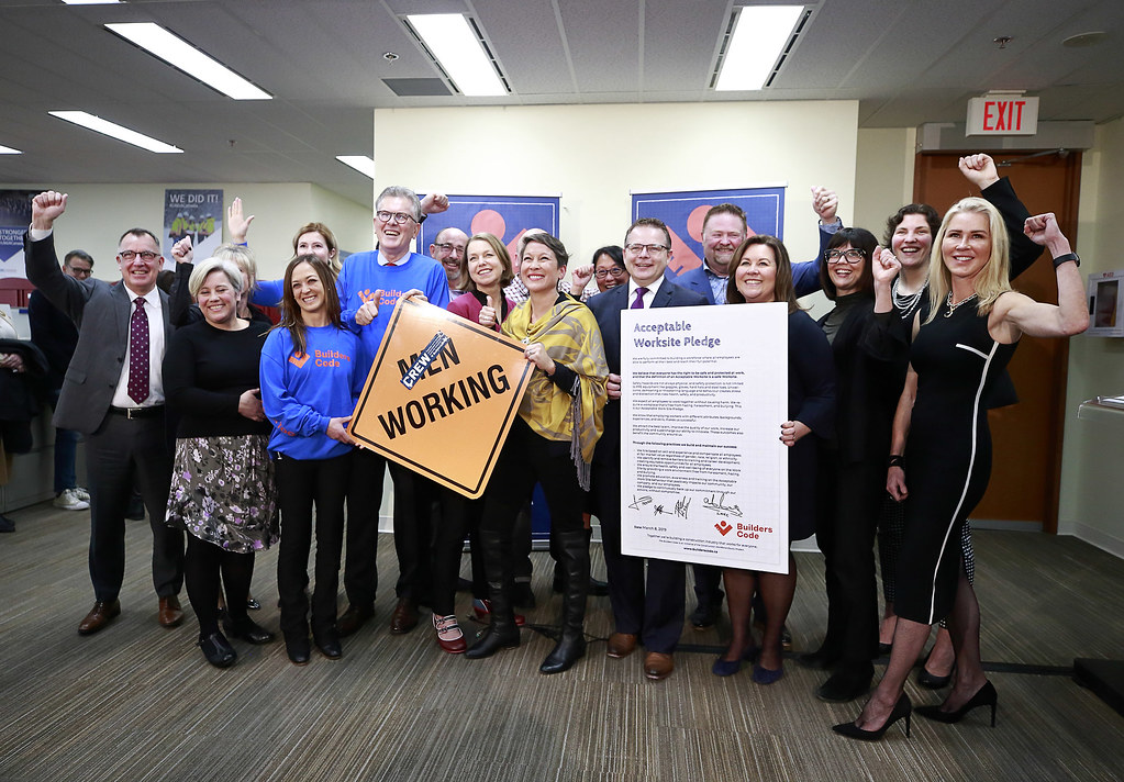 A new initiative called the Builders Code aims to retain more women in the construction trades by creating a supportive, inclusive work environment that works for everyone.