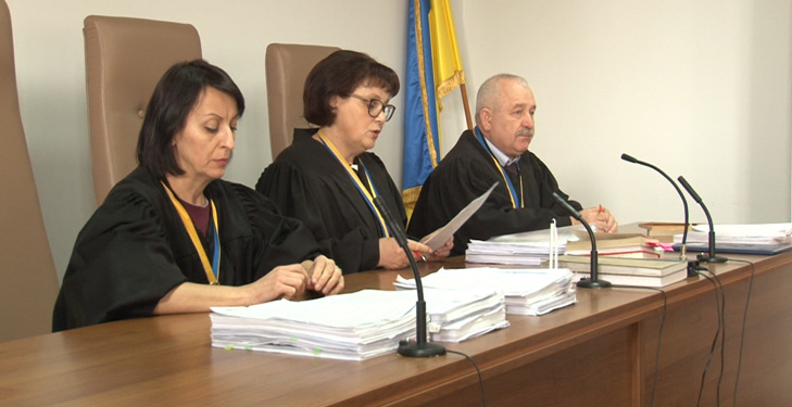 Коллегия судей Николаевского апеляционного суда: Елена Фарионова, Оксана Куценко, Николай Миняйло