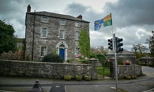 Irish Stone House in Slane - County Meath Ireland
