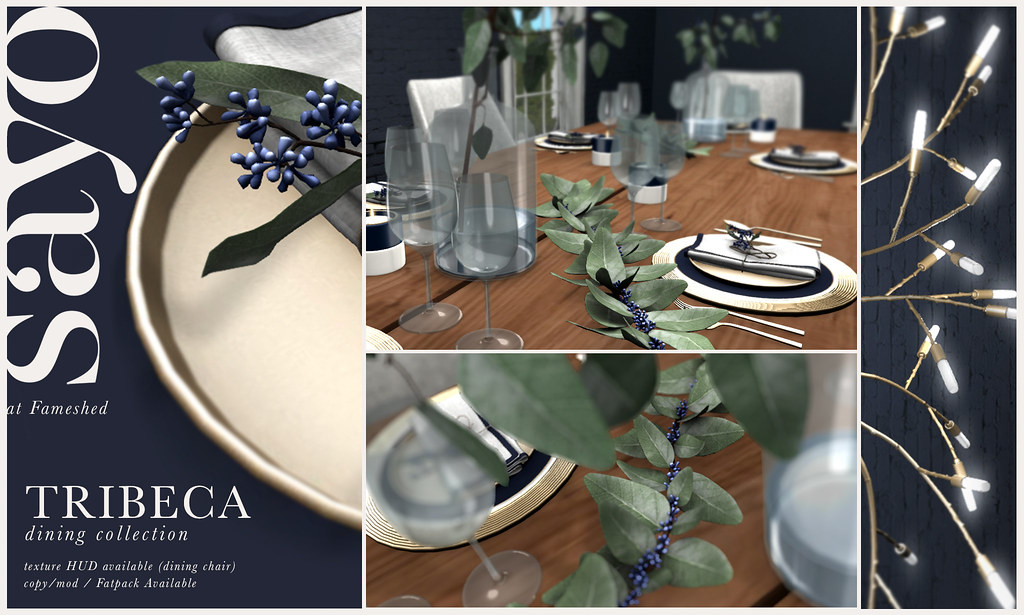 SAYO Tribeca Dining Collection @ Fameshed January 2019