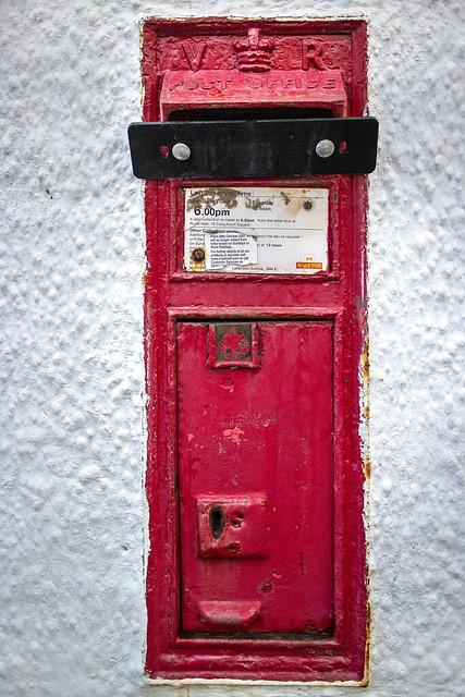 VR Wall Box, West King Street, Helensburgh