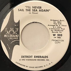 DETROIT EMERALDS:BABY LET ME TAKE YOU(IN MY ARMS)(LABEL SIDE-B)