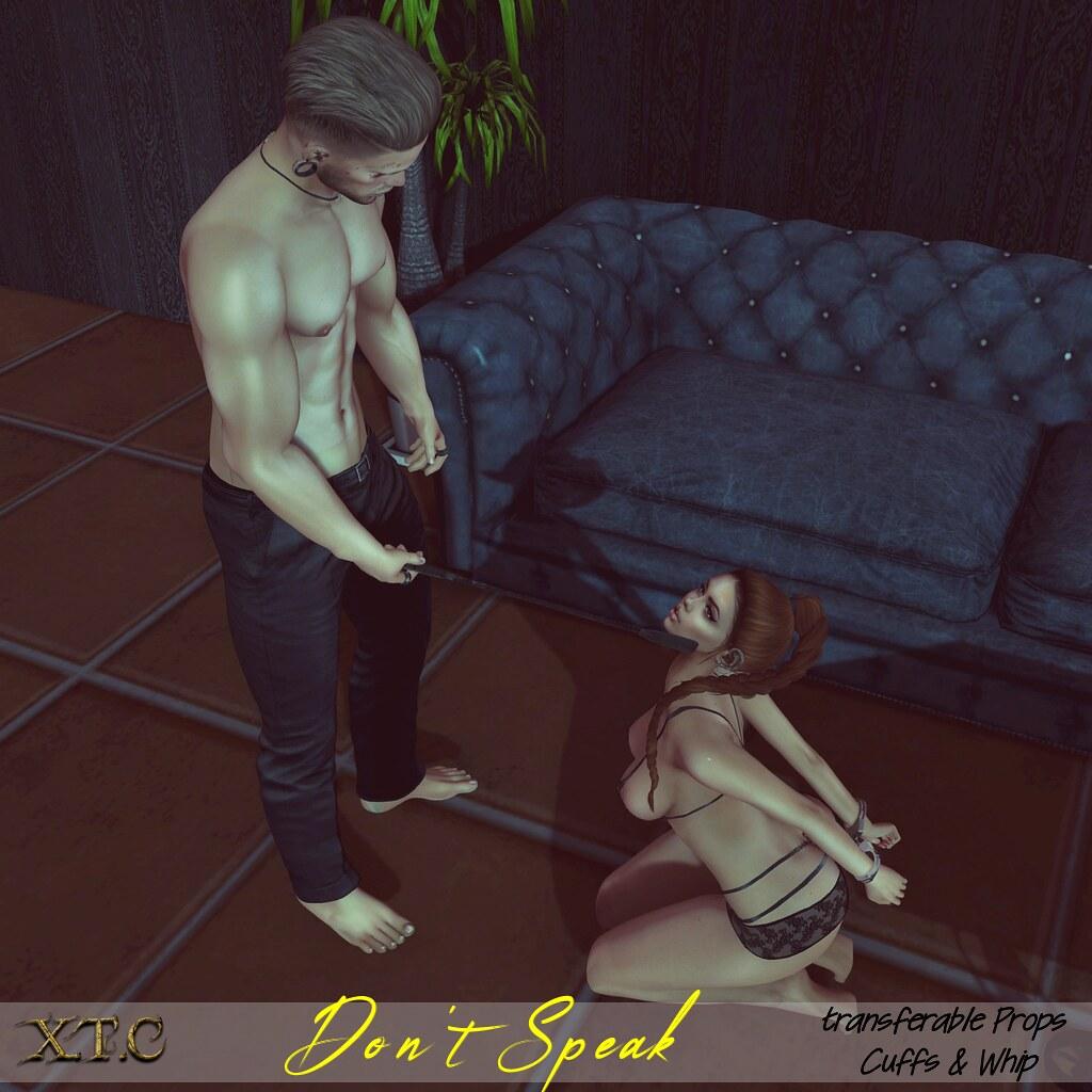 .Dont Speak. ~ Sex Fetish Event - TeleportHub.com Live!