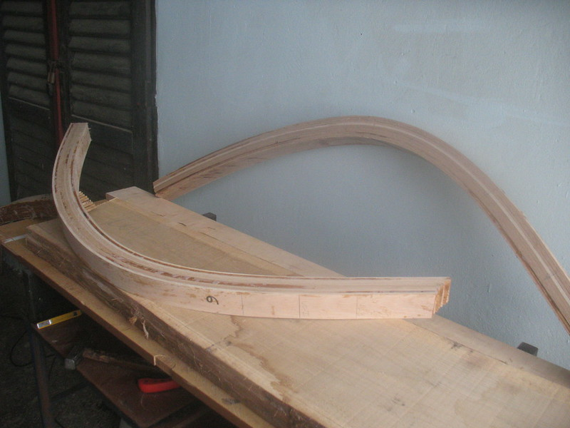 Three life of wooden boat