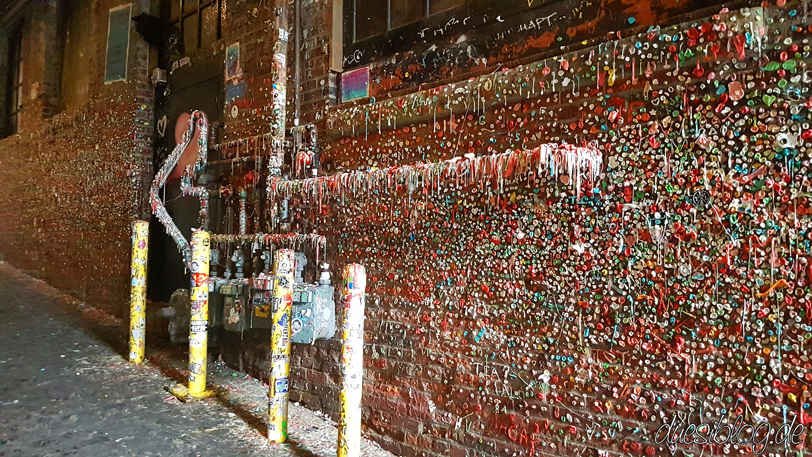 Seattle Washington travelblog duesiblog 25 Gum Wall