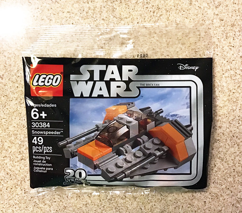 Lego Star Wars Snowspeeder 20th Anniversary Edition 30384