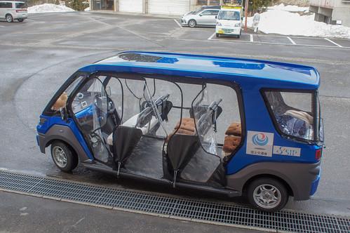 自動運転サービス実証実験