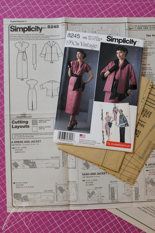 marchewkowa, blog, szycie, sewing, rękodzieło, handmade, moda, styl, vintage, retro, repro, 1950s, 1960s, Wrocław szyje, w starym stylu, wykroje, Burda Moden