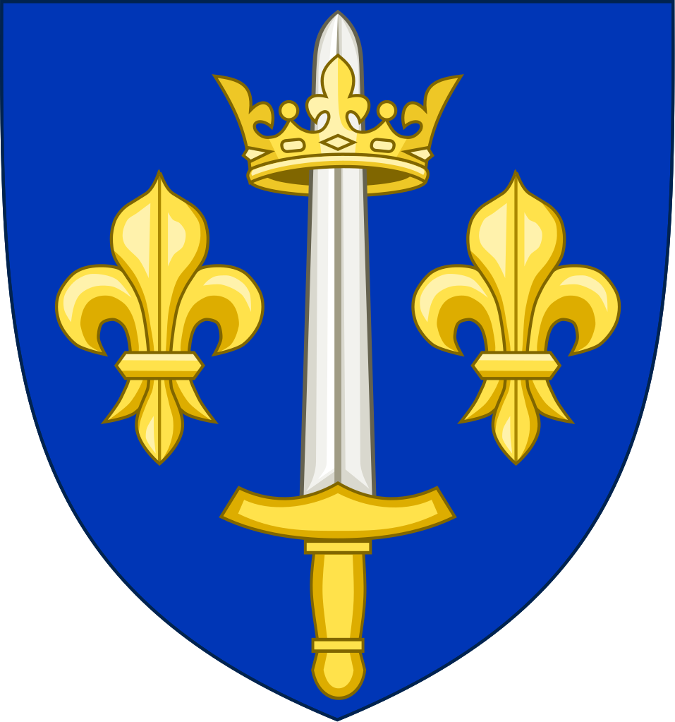 In 1429, King Charles granted Joan a coat of arms
