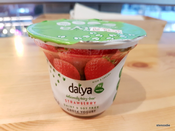Daiya Strawberry Greek Yogurt