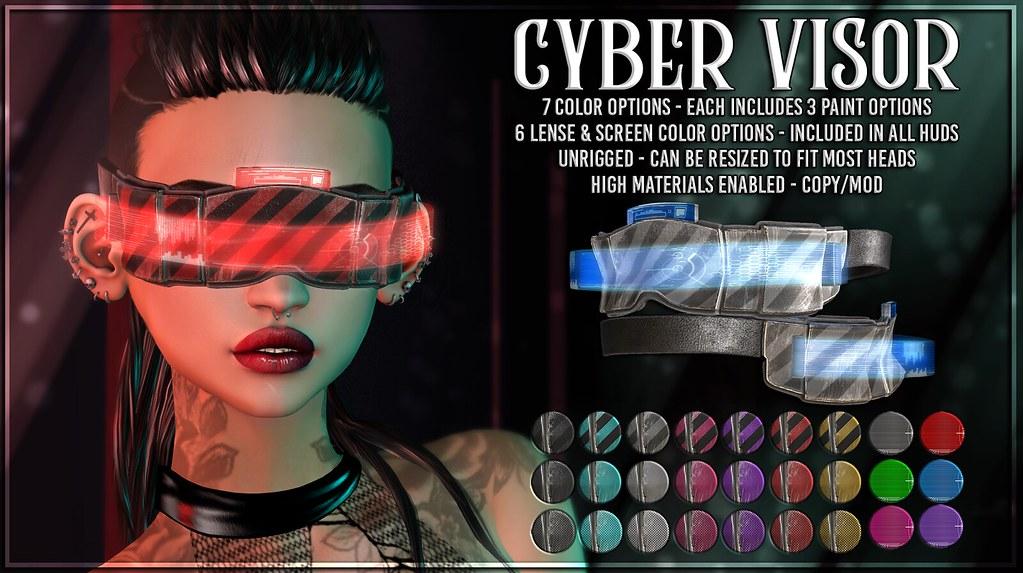 AsteroidBox. Cyber Visor – 50/50