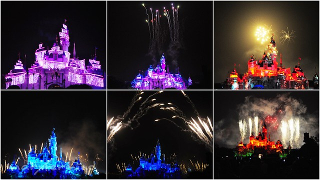 Disney in the Stars Fireworks Hong Kong Disneyland