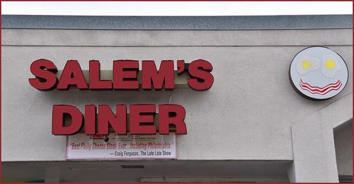 Salem's Diner 2913 18th Street South Homewood (AL) -- Home of the Philly Cheese Steak February 2019