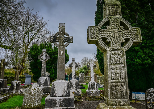 Muiredach's High Cross of Mainistir Bhuithe Monasterboice - Monastery of Buithe - County Louth Ireland