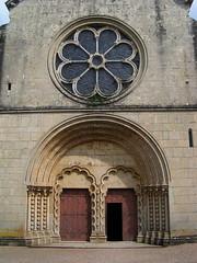 20080519 25917 Jakobus Montreal Kirche Fenster Rosette Tor - Photo of Marmeaux