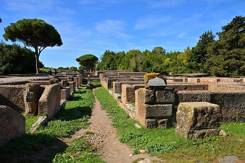 Rome / Ostia Antica / Via dei Magazzini Republicani / Stores Street