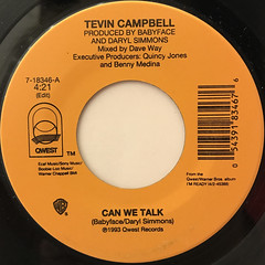 TEVIN CAMPBELL:CAN WE TALK(LABEL SIDE-A)