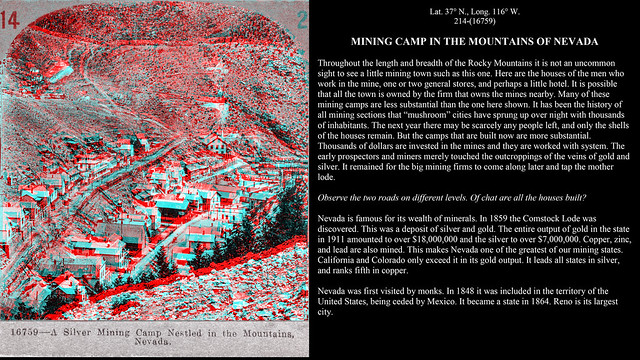 Keystone 214 - Mining Camp in the Mountains of Nevada