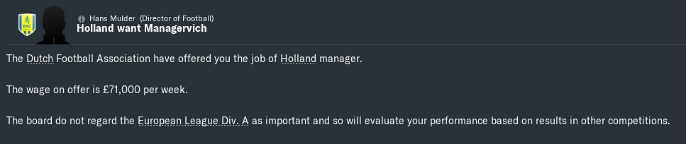 2027 holland job