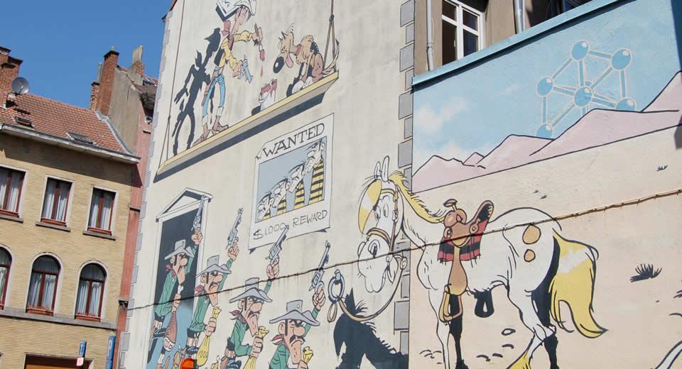 Weekendje Brussel, stripmuren Brussel | Mooistestedentrips.nl
