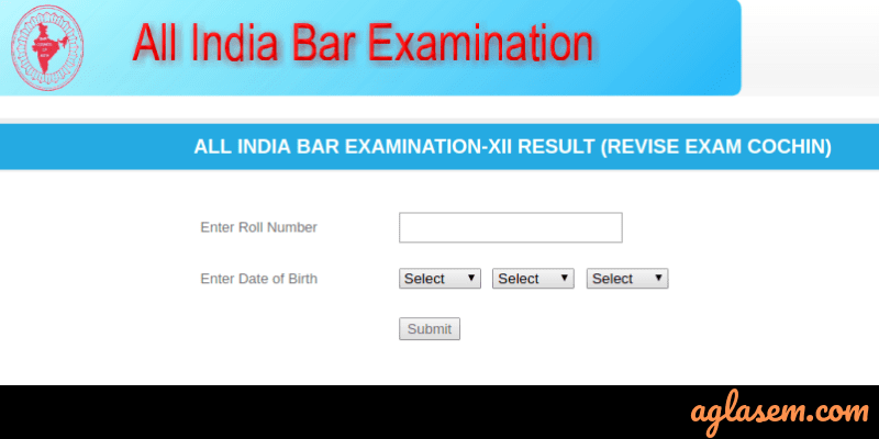 AIBE 12 Result Released for Candidates Who Could Not Appear at Cochin Exam Centre