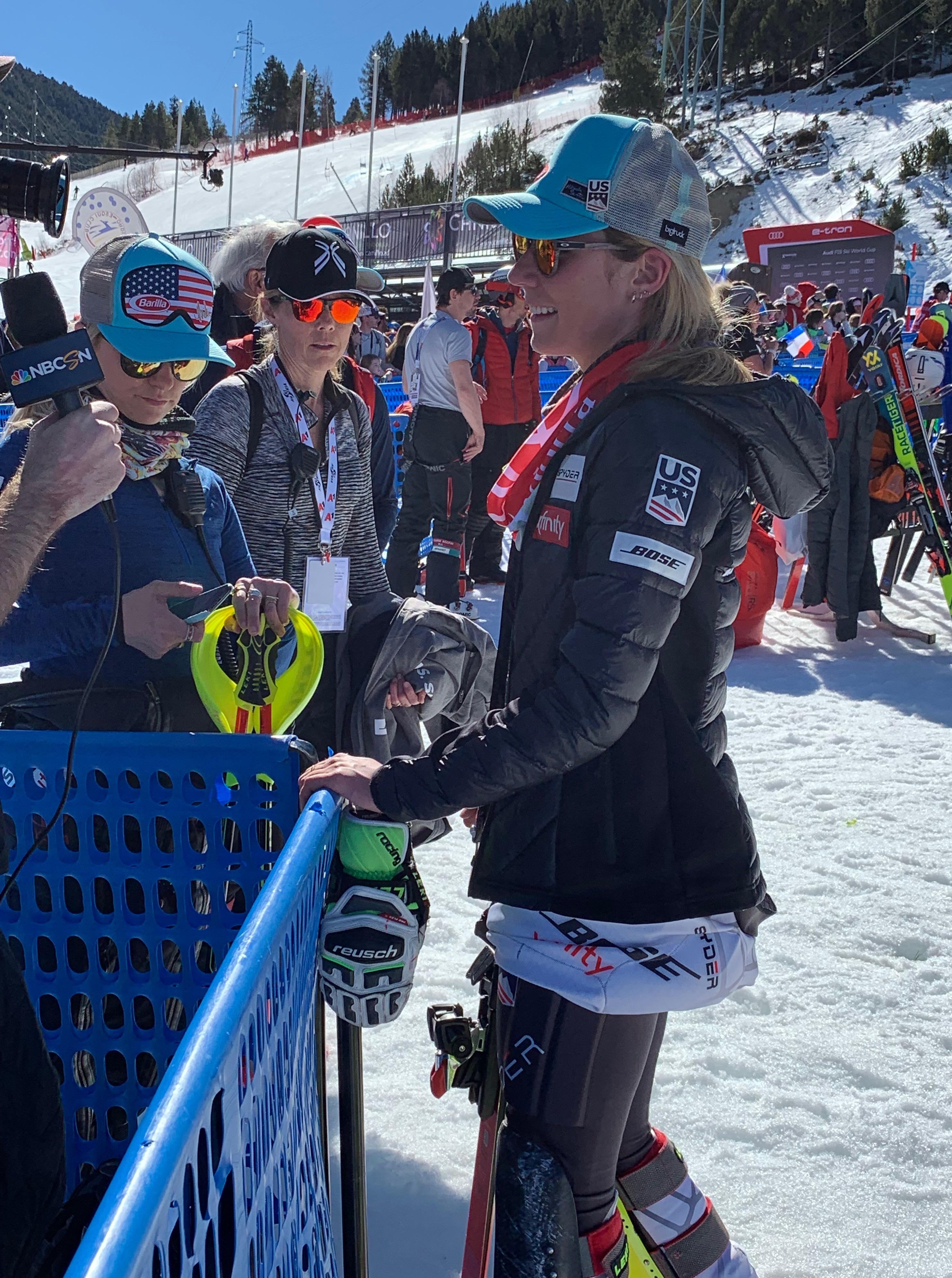 Mikaela Shiffrin - Foto Hablamos de esquí