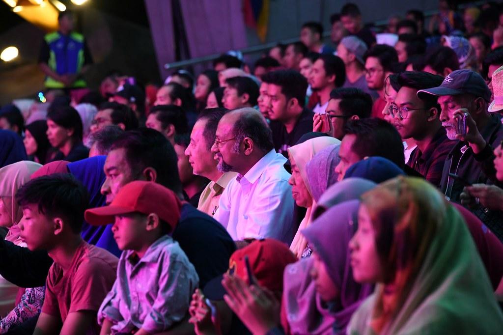 Konsert Dihadiri Menteri Komunikasi Dan Multimedia Gobind Singh Deo Juga Ketua Pengarah Penyiaran, Abdul Muis Shefii
