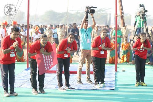 Devotees of Football Teams seeking blessings