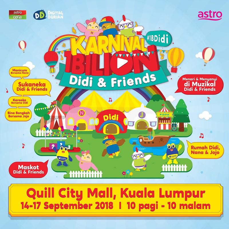 Poster Karnival 1 Bilion Didi & Friendss