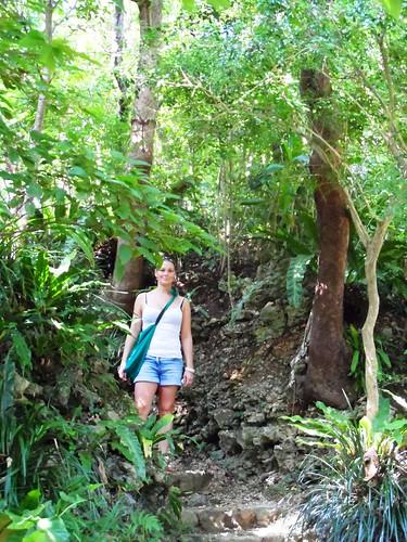 Jessica im Süden von Okinawa