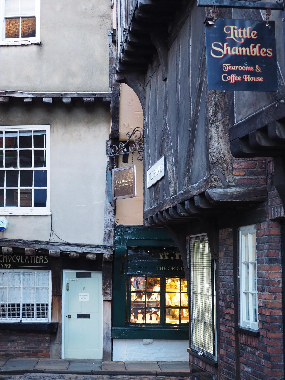 York Shambles 1