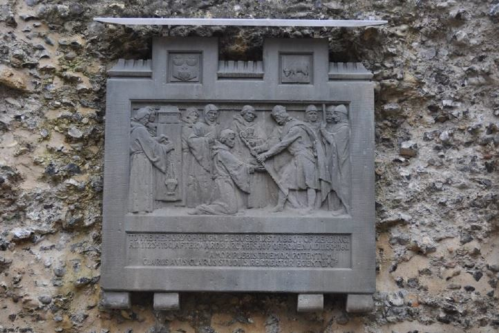 Abbey Memorial Plaque Conservation