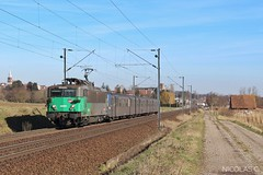 BB(4)25615 + RRR n°228 - AR140 - Train n°830118 Strasbourg-Ville > Sarrebourg - Photo of Buswiller