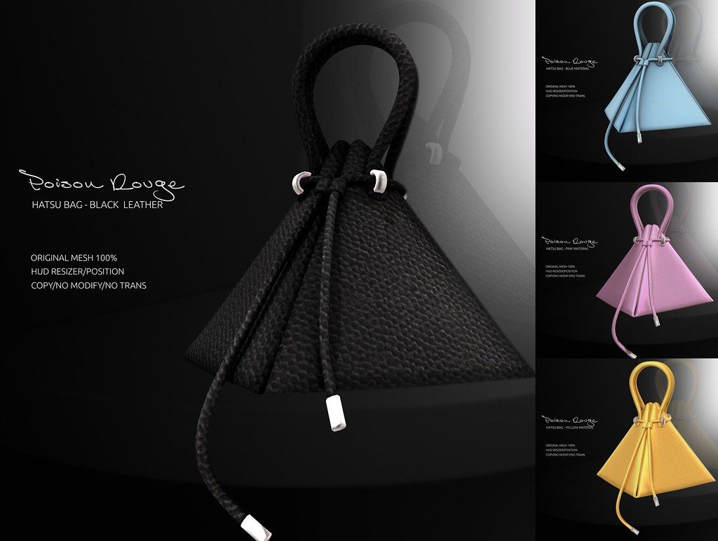 POISON ROUGE Hatsu Bag